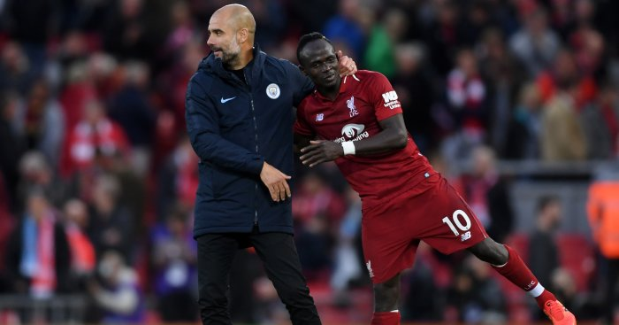 Pep Guardiola Sadio Mane TEAMtalk