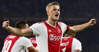 during the UEFA Champions League third round qualifying match between Ajax and Royal Standard de Liege at Johan Cruyff Arena on August 14, 2018 in Amsterdam, Netherlands.