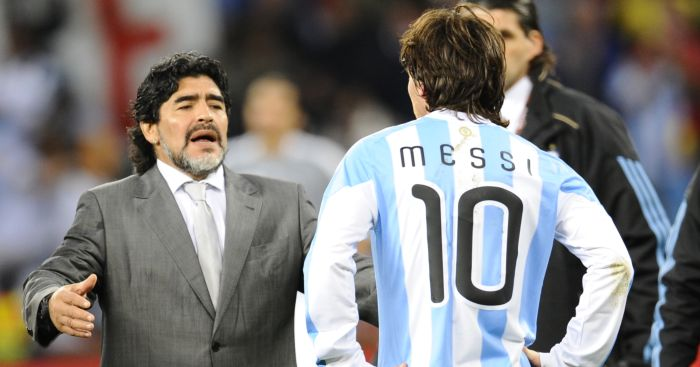 Shilton admits 'animosity' to Maradona; would like to have cleared the air - team talk