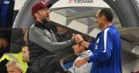 Maurizio Sarri Jurgen Klopp Chelsea Liverpool