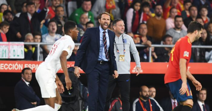 Southgate reacts to England display after stunning win in Spain