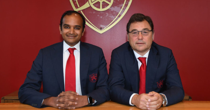 Arsenal fans look away, as Raul Sanllehi talks about transfers thumbnail