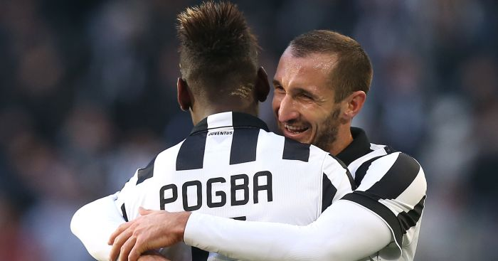 Paul Pogba Chiellini TEAMtalk