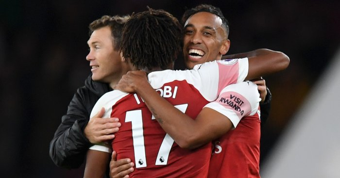 Alex Iwobi Aubameyang TEAMtalk