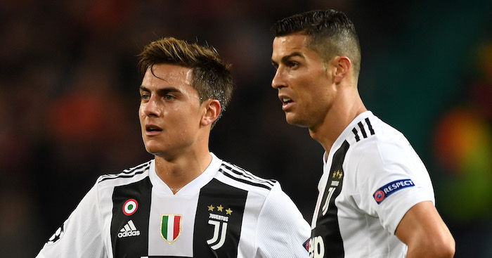 during the Group H match of the UEFA Champions League between Manchester United and Juventus at Old Trafford on October 23, 2018 in Manchester, United Kingdom.