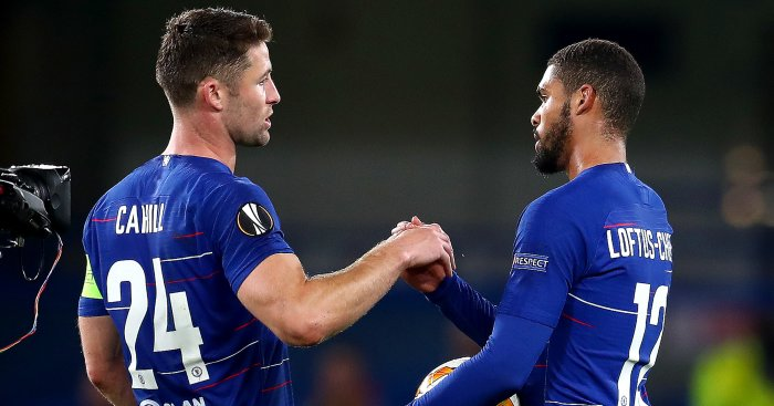 Gary Cahill Ruben Loftus-Cheek TEAMtalk