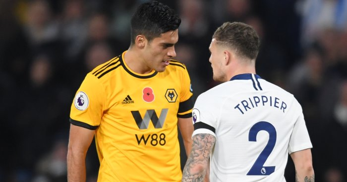 Raul Jimenez Trippier TEAMtalk