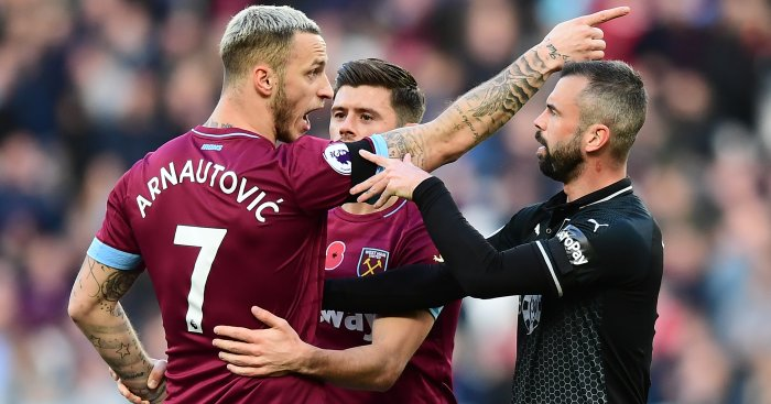Arnautovic Defour TEAMtalk