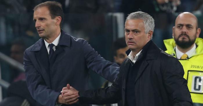 Image result for allegri mourinho