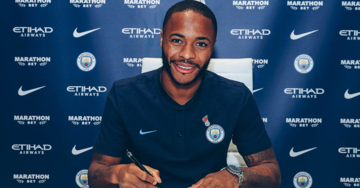 Image result for manchester city raheem sterling new contract