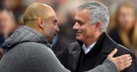 Pep Guardiola; Jose Mourinho TEAMtalk