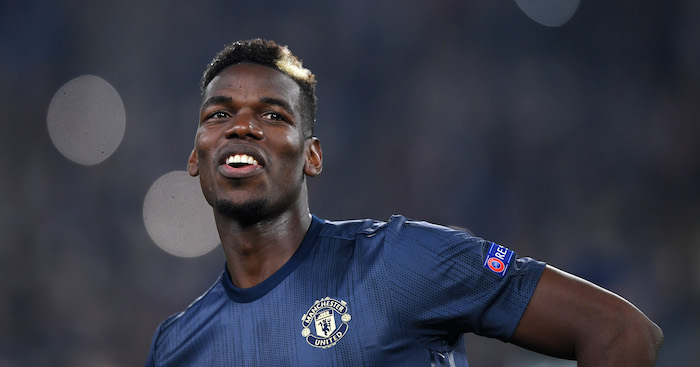 TURIN, ITALY - NOVEMBER 07: Paul Pogba of Manchester United before the UEFA Champions League Group H match between Juventus and Manchester United at Allianz Stadium on November 07, 2018 in Turin, Italy. (Photo by Shaun Botterill/Getty Images)