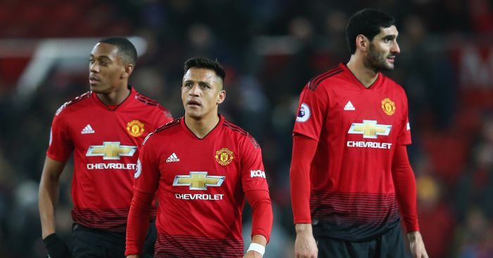 Alexis.Sanchez.Anthony.Martial.Marouane.Fellaini - Pundit explains why Fellaini was never right for Man Utd