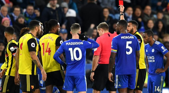 Capoue red card TEAMtalk