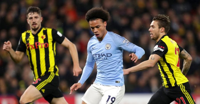 Man City go five points clear after battling win at Watford