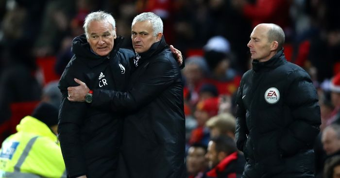 Claudio Ranieri; Jose Mourinho TEAMtalk