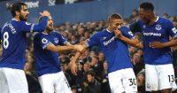 Cenk Tosun, Yerry Mina, Andre Gomes, Richarlison Everton celeb TEAMtalk