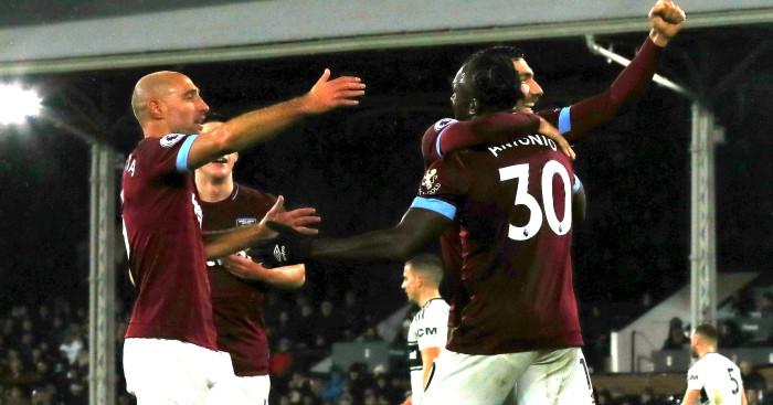 West Ham v Fulham TEAMtalk