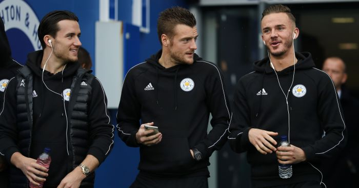 Ben.Chilwell.Jamie .Vardy .James .Maddison - Latest Man Utd display more like watching Mourinho than Solsjkaer