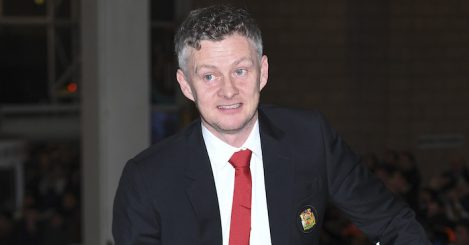 during the Premier League match between Newcastle United and Manchester United at St. James Park on January 2, 2019 in Newcastle upon Tyne, United Kingdom.