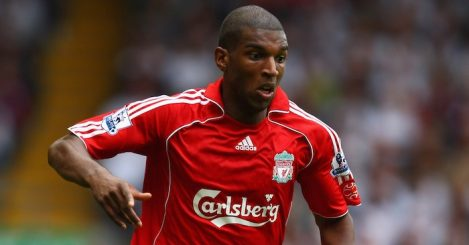 LIVERPOOL, UNITED KINGDOM - SEPTEMBER 01: Ryan Babel of Liverpool in action during the Barclays Premier League match between Liverpool and Derby County at Anfield on September 01, 2007 in Liverpool, England. (Photo by Mark Thompson/Getty Images)