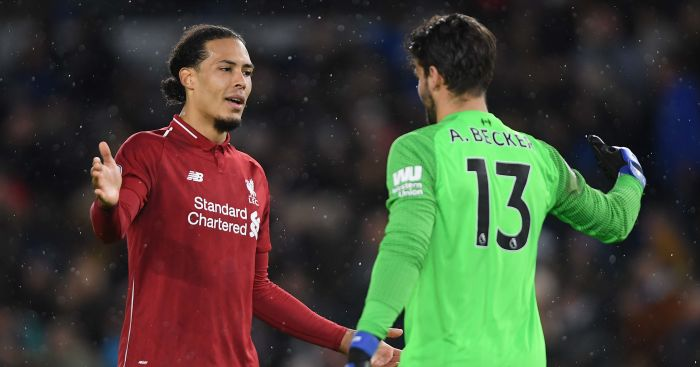 Virgil.van .Dijk .Alisson.000 - Klopp urged to pick creative player tonight; Liverpool no.10 target mooted