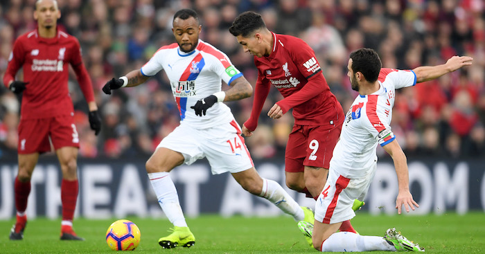 GettyImages 1084953714 - Keeper error and Salah double helps Liverpool go seven clear