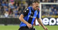 BRUGGE, BELGIUM - JULY 26: Bjorn Engels from Club Brugge in action during the Champions League Third Round Qualifier First Leg match between Club Brugge and Istanbul Basaksehir at Jan Breydel Stadium on July 26, 2017 in Brugge, Belgium. (Photo by Andy Astfalck/Getty Images)