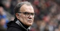ROTHERHAM, ENGLAND - JANUARY 26: Marcelo Bielsa manager of Leeds United looks on during the Sky Bet Championship match between Rotherham United and Leeds United at The New York Stadium on January 26, 2019 in Rotherham, England. (Photo by George Wood/Getty Images)