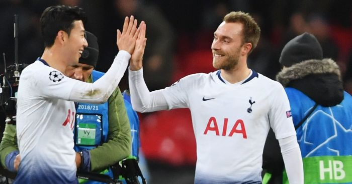 Son Heung-Min; Christian Eriksen TEAMtalk
