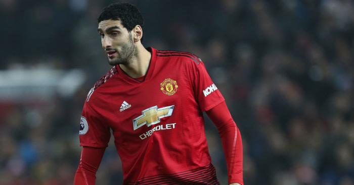 4e9a0da10 Man Utd in talks to sell unwanted Marouane Fellaini in £15m deal