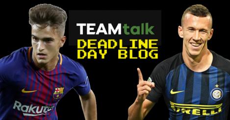 Deadline day blog