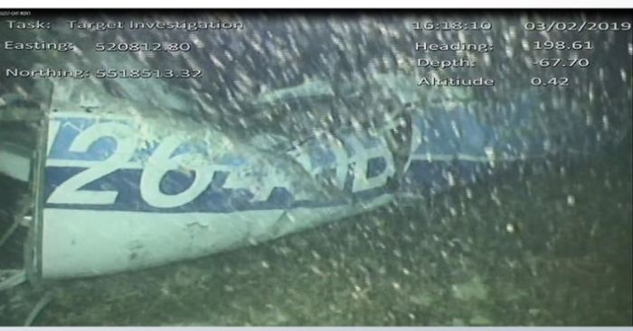 Sala underwater plane footage shows body in wreckage