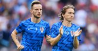 during the 2018 FIFA World Cup Final between France and Croatia at Luzhniki Stadium on July 15, 2018 in Moscow, Russia.