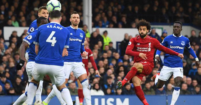 Mo Salah Liverpool Everton
