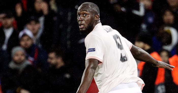 Romelu Lukaku PSG Man Utd Goal Celebration - Man Utd ready to do business with Inter Milan after naming Romelu Lukaku price