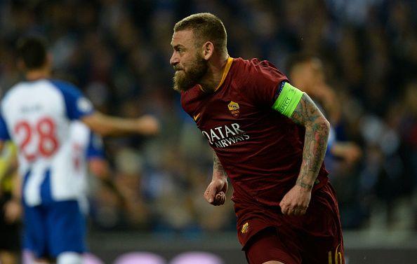 De.Rossi .002 1 - Euro Paper Talk: Tottenham spy £70m worth of attacking talent; Barcelona deny bid for Liverpool target