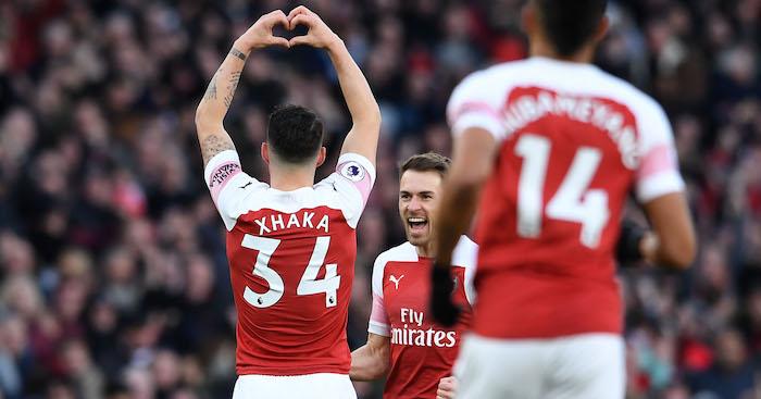 Arsenal Xhaka