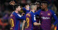 Umtiti Messi Barcelona