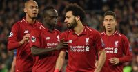Mo Salah Fabinho Firmino Mane Liverpool