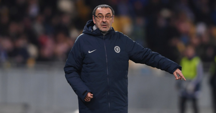 Chelsea boss Maurizio Sarri demands more from one department