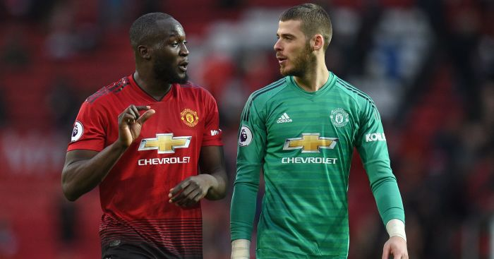 Romelu Lukaku; David de Gea TEAMtalk