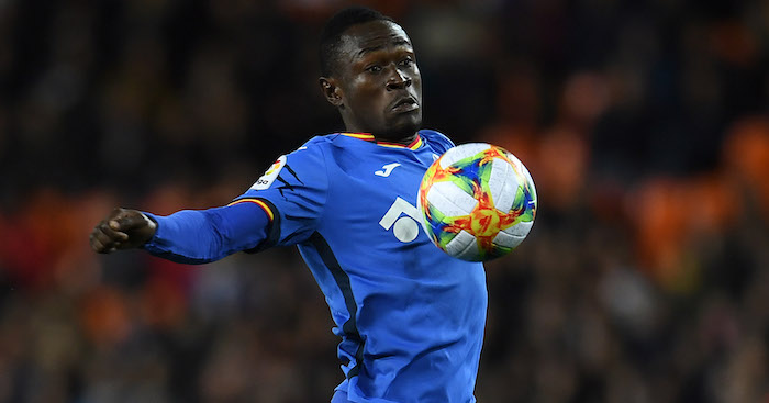 Djene Dakonam of Getafe CF