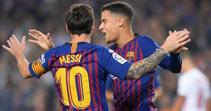 Messi Coutinho Barcelona