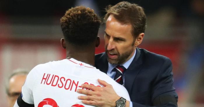 Gareth.Southgate.Callum.Hudson.Odoi1  - Southgate advises Hudson-Odoi over Man Utd, Liverpool rumours