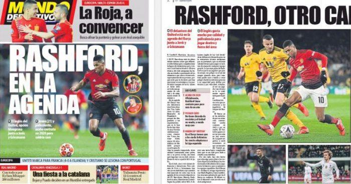 Rashford 700x367 - Euro Paper Talk: Man Utd pick two Real Madrid stars as part of huge Pogba swap; Lazio talk Tottenham out of €40m deal