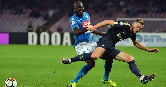 Skriniar Koulibaly Manchester United