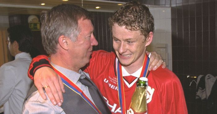 Sir Alex Ferguson; Ole Gunnar Solskjaer TEAMtalk