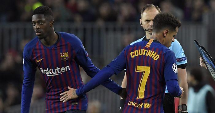 Ousmane Dembele; Philippe Coutinho TEAMtalk