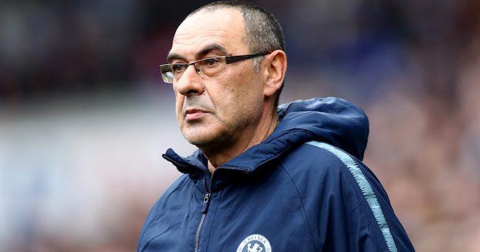 Maurizio Sarri, Manager of Chelsea